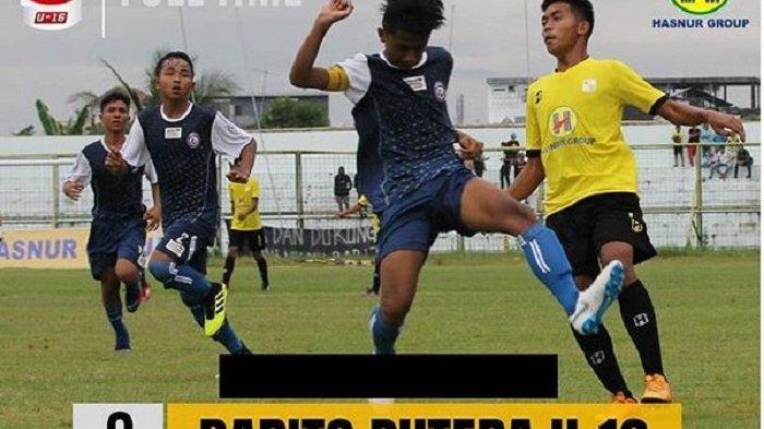 Barito Putera U-16 Takluk 0-2 Dihadapan Pendukung, Tak berkutik Hadapi Arema FC Malang