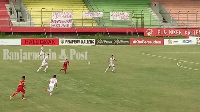 Hasil Akhir Kalteng Putra vs Persija di Liga 1 2019, Skor Akhir 1-3, Laga Tanpa Penonton