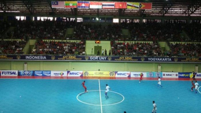 Live Streaming MNC TV dan Jadwal Timnas Futsal Indonesia vs Thailand Semifinal Piala AFF Futsal 2018