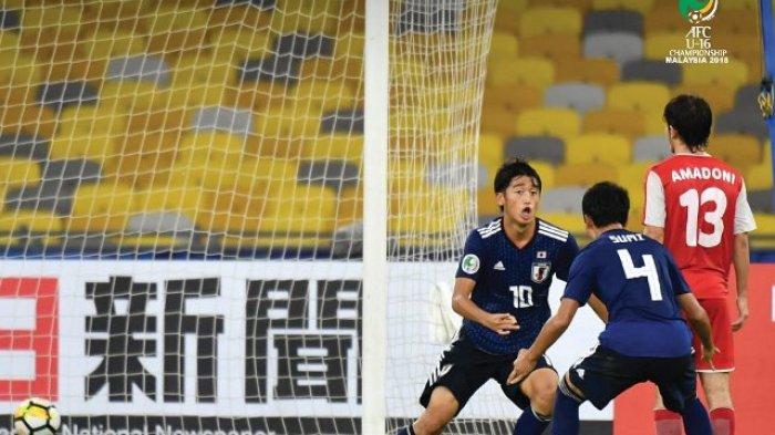 Jepang Juara! Hasil Akhir Timnas U-16 Jepang vs Tajikistan di Final Piala AFC U-16 2018 - Skor 1-0