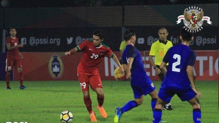 Hasil Skor Akhir Timnas U-23 Indonesia vs Thailand - Skor 1-2, Kontribusi Beto Goncalves