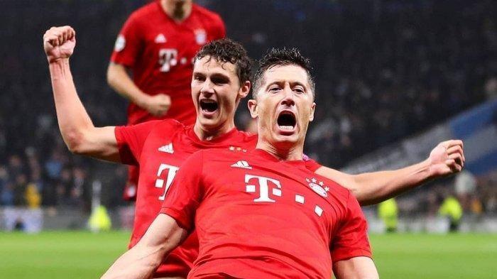 Susunan Pemain Lazio vs Bayern Munchen Liga Champions di TV Online Champions TV, Lewandowski Main