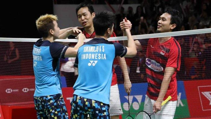 SESAAT LAGI Link TVRI! Live Streaming All England 2020 di Youtube BWF & UseeTV, Marcus/Kevin Main