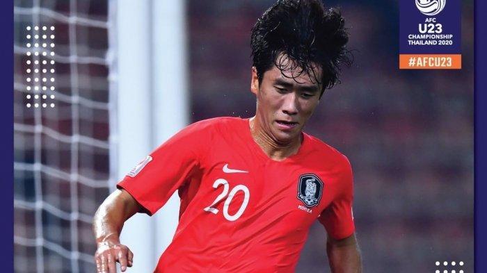 Hasil Babak Final Piala Asia U-23 2020 Timnas U-23  Korea Selatan Juara Kalahkan Arab Saudi Skor 1-0