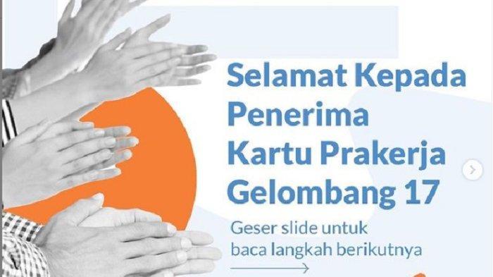 Cek Hasil Seleksi Gelombang 17 di www.prakerja.go.id dan Siap-siap Ikut Pelatihan, Begini Caranya