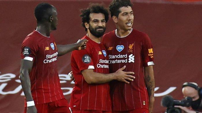 LIVE Kompas TV! Live Streaming Liverpool vs RB Salzburg Ujicoba Pra Liga Inggris & Community Shield