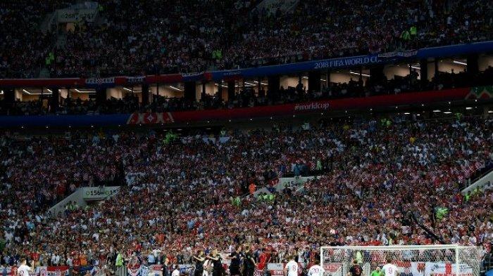 Hasil Kroasia vs Inggris di Semifinal Piala Dunia 2018 - Skor Babak Pertama 0-1, Gol Trippier!