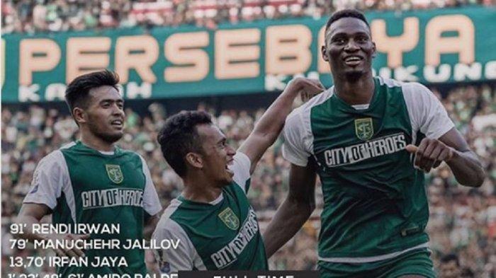 Arema FC vs Persebaya di Final Piala Presiden 2019! Hasil Akhir Madura United vs Persebaya, Skor 2-3