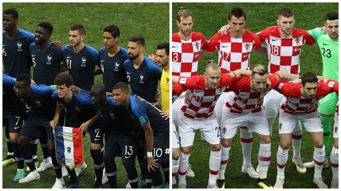 Gol Bunuh Diri Mandzukic! Hasil Prancis vs Kroasia di Final Piala Dunia 2018 - Skor Sementara 1-0