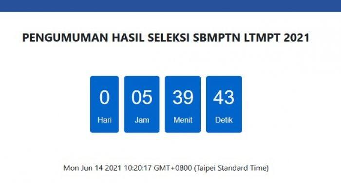 5 Jam Lagi Hasil SBMPTN 2021 Diumumkan, Jangan Lupa Masukkan Nomor Peserta untuk Cek Secara Online