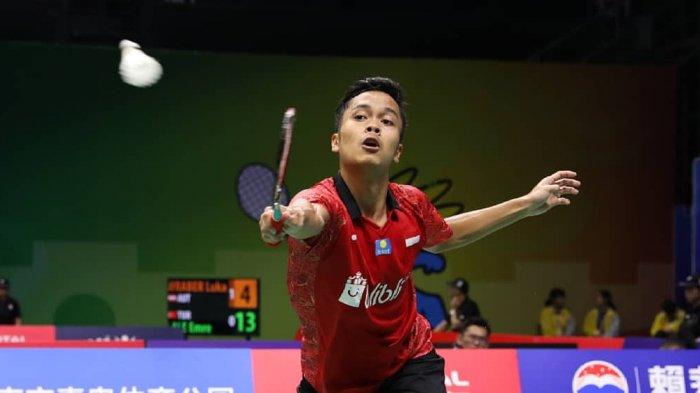 Live Streaming Semfinal China Open 2018 Live MNC TV, Ginting Main Pertama Lawan Chou Tien Chen