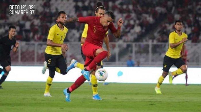 Cuplikan Gol & Hasil Timnas Indonesia Vs Malaysia di Kualifikasi Piala Dunia 2022, Skor Akhir 2-3
