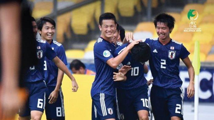 Jika Timnas U-16 Indonesia vs Jepang di Semifinal Piala AFC U-16 2018, Ini 3 Fakta Bombastis Jepang