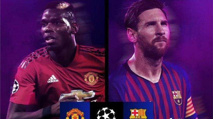 Jadwal Perempat Final Liga Champion Live RCTI, Barcelona vs Manchester United, Juventus & Liverpool?