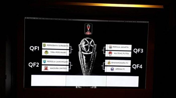 Jadwal Piala Presiden 2019, Persela Lamongan Vs Madura United Laga Penutup 8 Besar Sore Ini