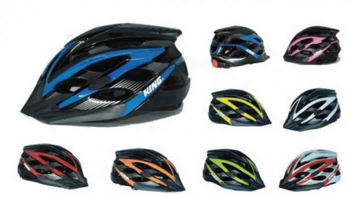 Cocok Bagi Gowes Mania! Tersedia Delapan Pilihan Warna Menarik Helm Keren