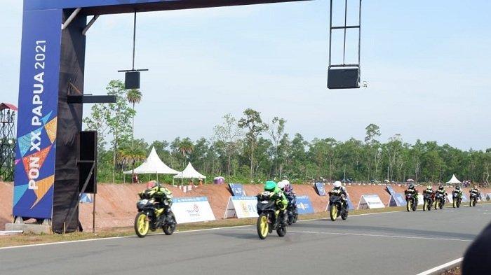 PON XX Papua 2021 -  Tim Balap Motor Kalsel Gagal Naik Podium, Begini Respon Ketua IMI Kalsel