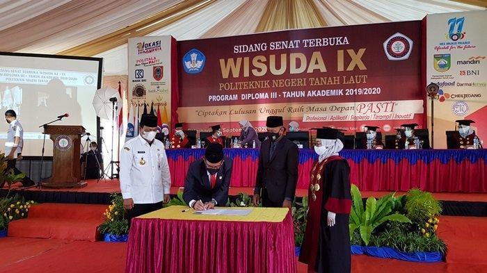 Hibahkan Lahan 8 Hektare, Pemkab Tala Dukung Politala Jadi Universitas di Kabupaten Tanahlaut,