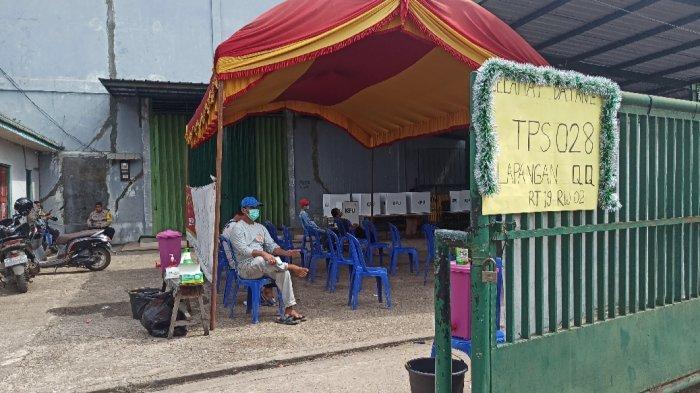 Mulai Lengang, 50 persen DPT di Sejumlah TPS Basirih Selatan Sudah Salurkan Suara