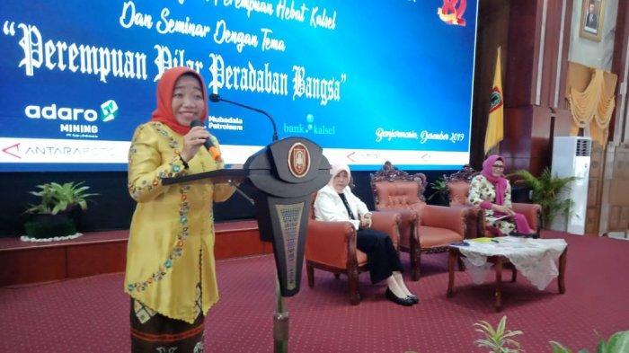 Anisah Wahid Perempuan Hebat Kalsel Berbagi Inspirasi di HUT Ke-82 Antara