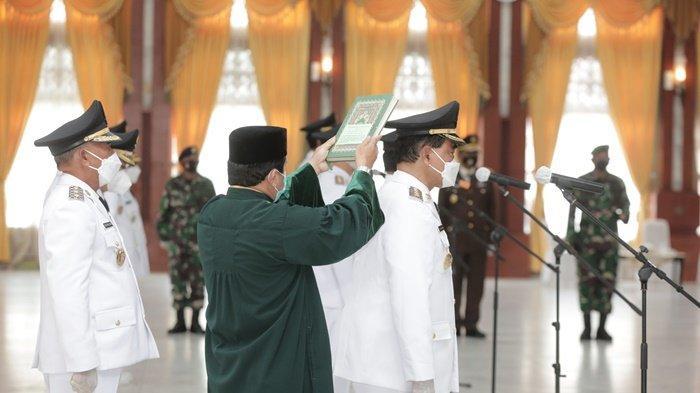 Dilantik Pj Gubernur Kalsel Safrizal, Zairullah-M Rusli Resmi Jabat Bupati dan Wakil Bupati Tanbu