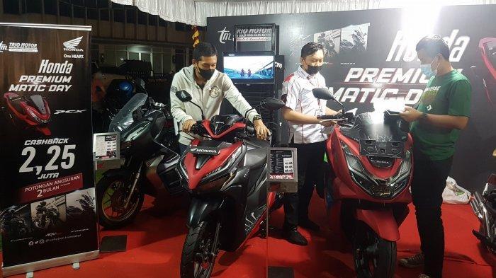 PCX160 Skuter Primadona Honda Premium Matic Day di Citraland Banjarmasin