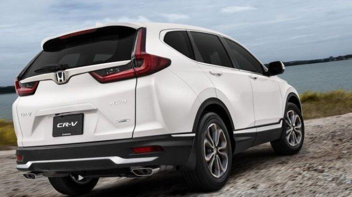 Honda CR-V Facelift di Malaysia.