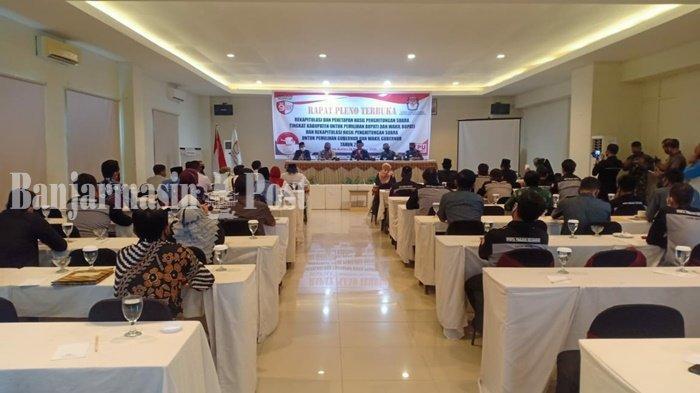 Hasil Rekapitulasi KPU Kabupaten Tanbu, HM Zairullah Azhar dan Paman Birin Unggul