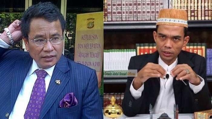 Ustadz Abdul Somad dan Hotman Paris Bahas Soal Beda Agama, UAS Kutip Surah Al Mumtahanah Ayat 8