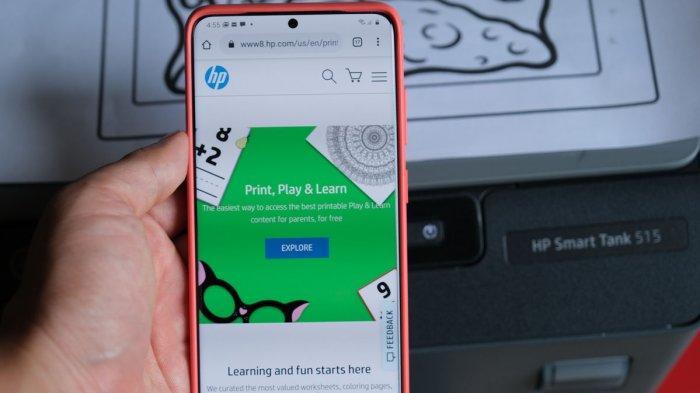 HP Print Play & Learn, Bantuan Edukatif untuk Belajar Dari Rumah