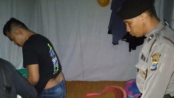 49 Botol Minuman Keras Disita dari Warung di Trikora Banjarbaru, Polsek Banjarbaru Barat Gelar Razia