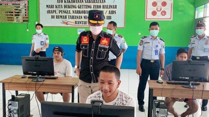 Layanan Besuk di Rutan Rantau Disetop, Gantinya Video Call via WhatsApp