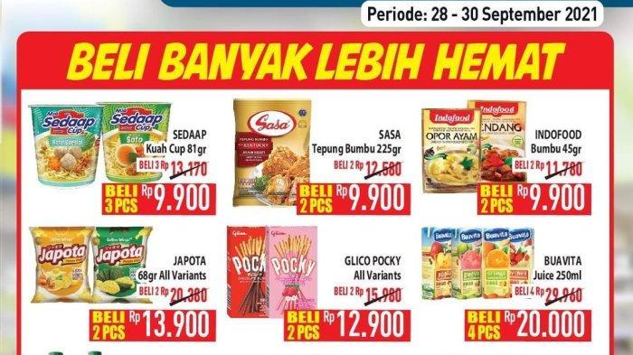 Promo Diskon Hypermart Hari Ini 28-30 September 2021 Hyper Diskon Weekday, Cek www.hypermart.co.id