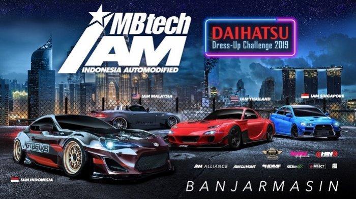 Seri Indonesia Automodified (IAM) MB Tech Kalimantan Hadir di Banjarmasin, Ini Jadwal dan Tempatnya