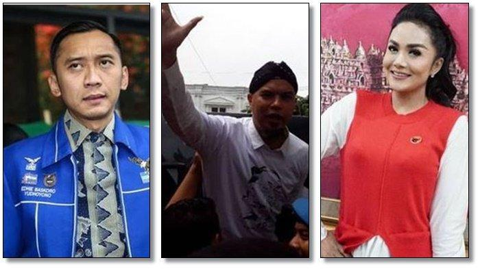 Krisdayanti (KD) Tertinggi, Ahmad Dhani & Manohara Gagal, Ini Hasil 'Perang Bintang' Caleg Jatim