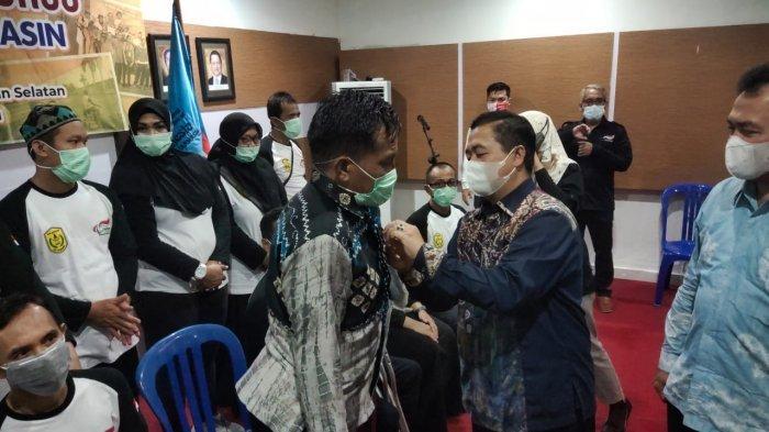 Lantik Pengurus NPC Banjarmasin, Ibnu Sina Dorong Atlet Mengikuti Event Virtual