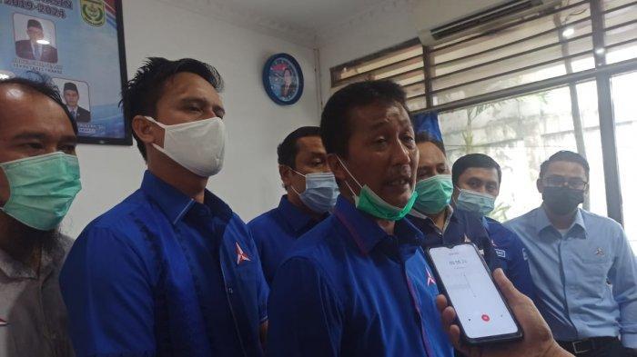 DPC Partai Demokrat Banjarmasin Resmi Umumkan H Ibnu Sina Sebagai Kader Demokrat