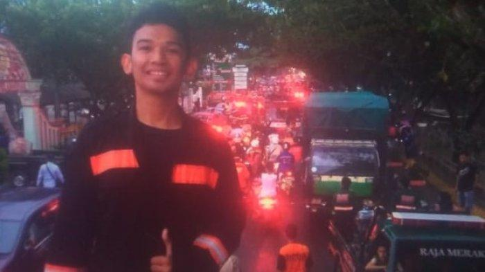 Cara Pemuda HSS Bikin Video Sambil Menolong Korban, ke Lokasi Kebakaran Iringi Mobil Pemadam