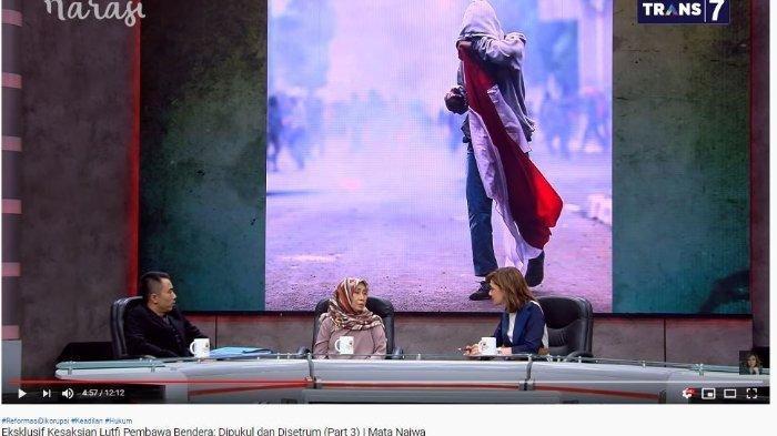 Remaja Pembawa Bendera Merah Putih Ngaku Dipukul dan Disetrum Polisi, Anggota DPR: Sangat Biadab!