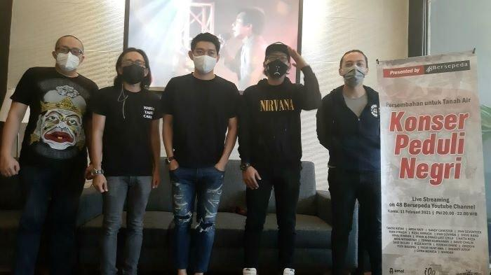 Ifan Seventeen dan Komunitas 48 Bersepeda Kumpulkan Rp 1 Miliar Dari Hasil Konser 2 Jam