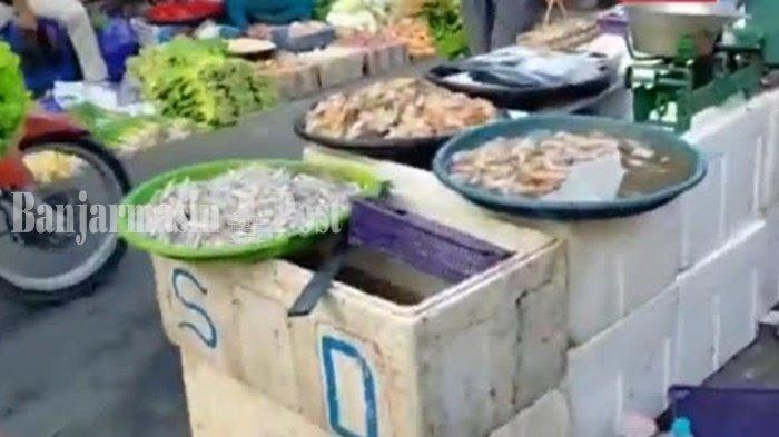 Harga Ikan Segar Normal, Harga Ikan Asin Turun di Banjarbaru