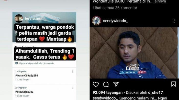 Ikatan Cinta 24 Mei 2021 trending nomor 1