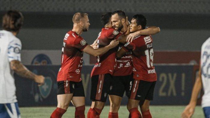 Hasil Akhir Persib vs Bali United Skor 2-2 : Beckam Putra Dua Gol, Tupamahu Kartu Merah