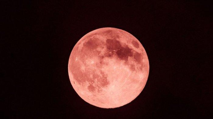 Ada Strawberry Full Moon & Gerhana Bulan Penumbra Malam Ini, Tonton Live Streamingnya di Sini