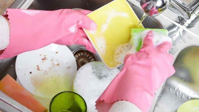 Piranti Makan Penuh dengan Lemak, Simak Tips  Mempercepat Kegiatan Mencuci Piring