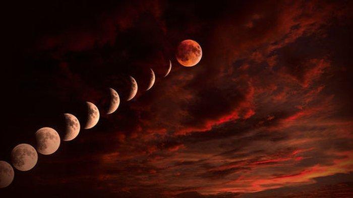 Bacaan Doa Kala Melihat Gerhana Bulan Total Seperti Hari Ini, Ingat Pesan Rasulullah SAW