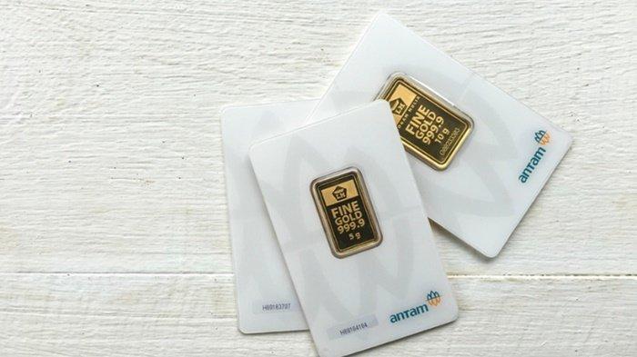 Ilustrasi harga emas Antam hari ini atau harga emas batangan, termasuk harga emas Antam dan harga emas UBS.