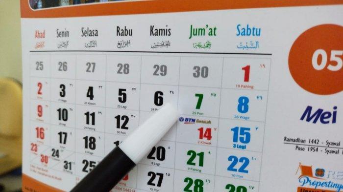 JADWAL Lebaran 2021 & Sidang Isbat Penentuan 1 Syawal 1442 oleh Pemerintah