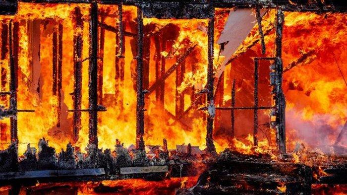 Puluhan Buah Semangka Hangus Terbakar di Pelaihari, Bergini Fakta yang Terjadi