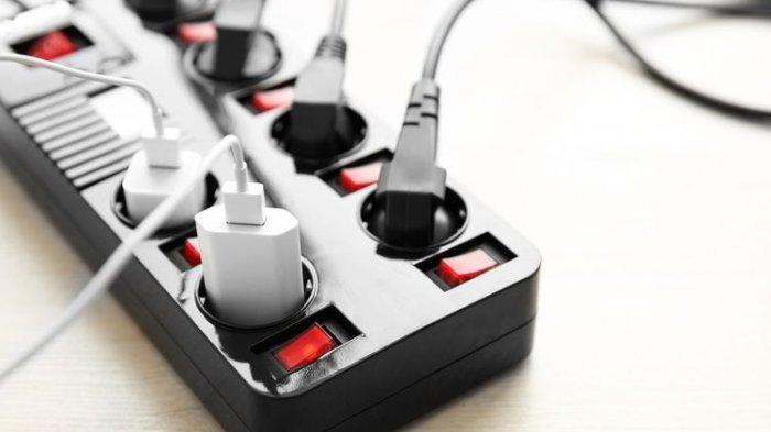 Ilustrasi listrik, tagihan listrik, penggunaan listrik